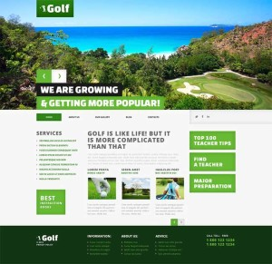 Golf-Responsive-WordPress-Theme